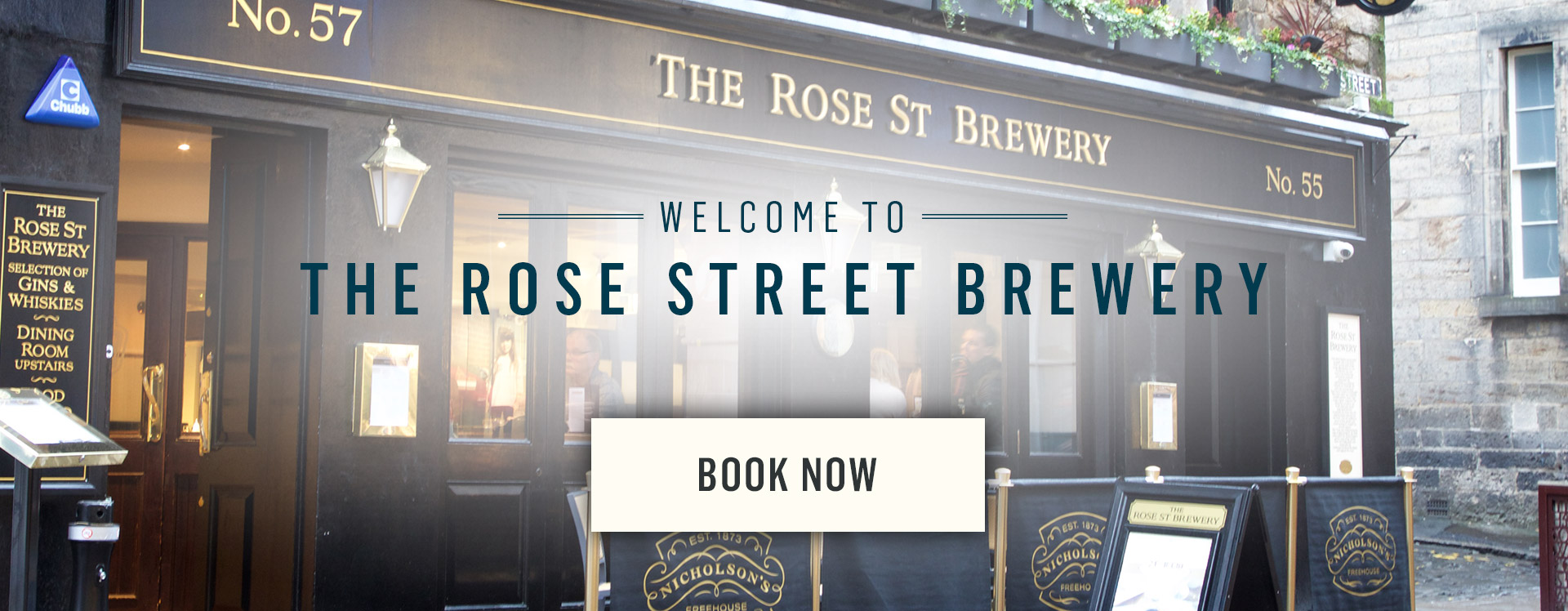 Welcome to Rose Street Brewery - Book Now
