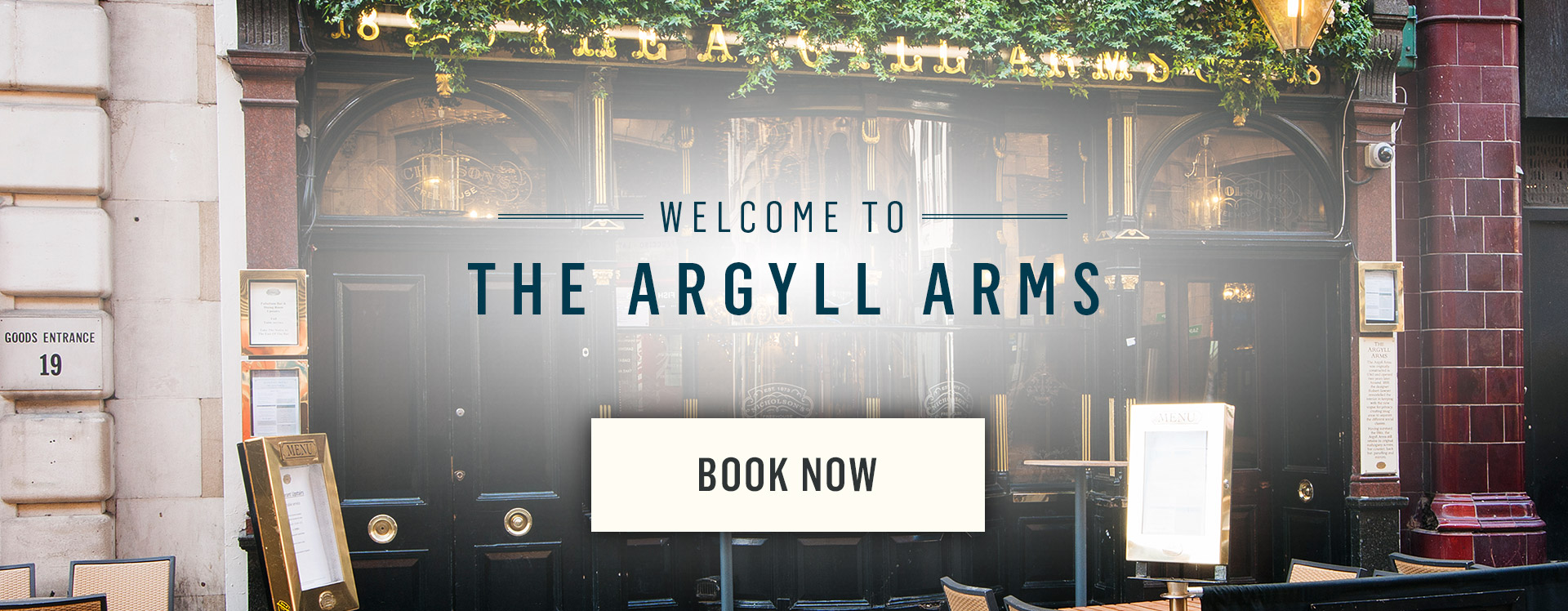 Welcome to The Argyll Arms - Book Now