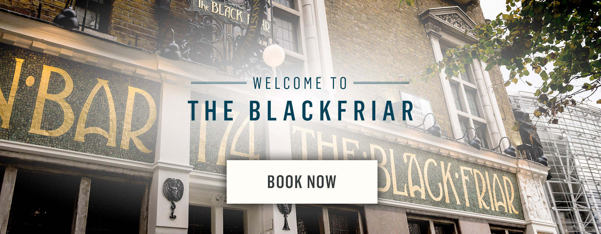 Welcome to The Blackfriar - Book Now