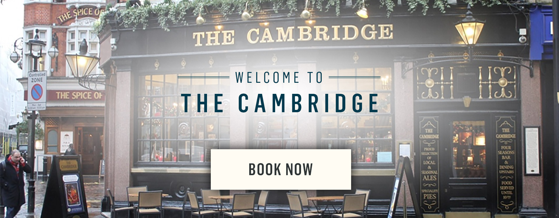 Welcome to The Cambridge - Book Now
