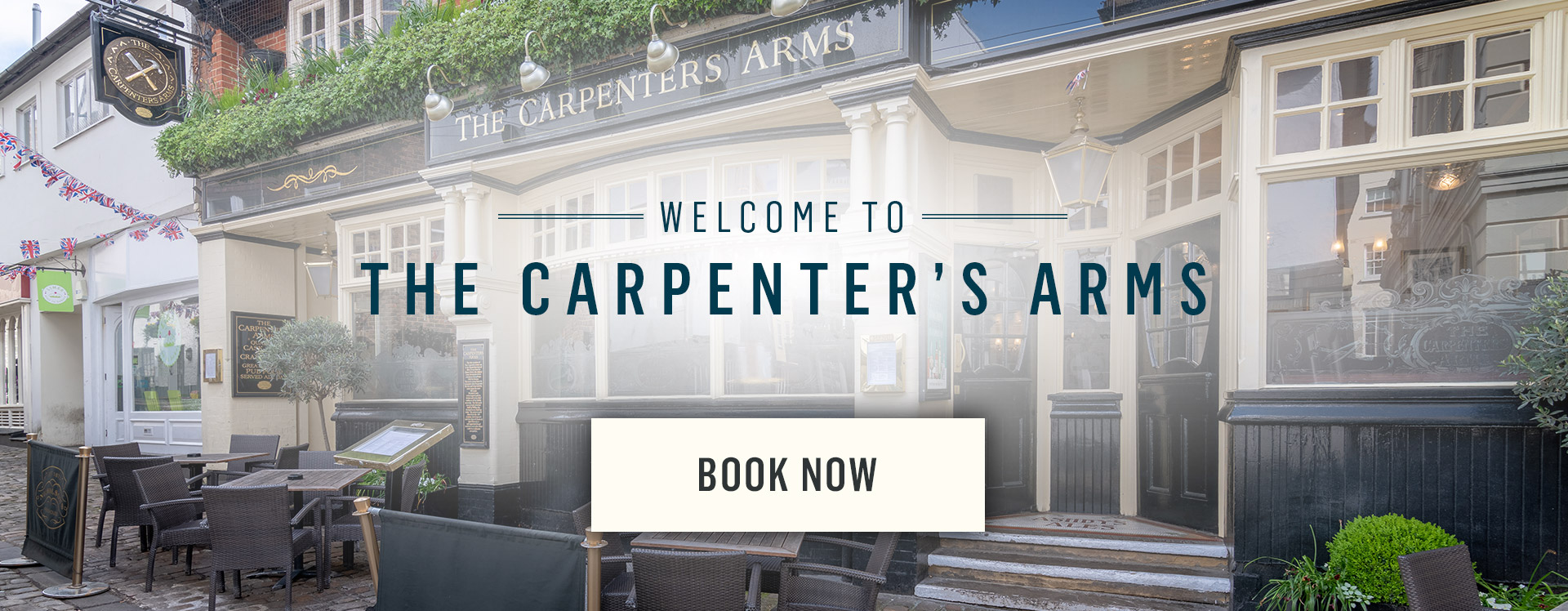 Welcome to The Carpenter's Arms - Book Now