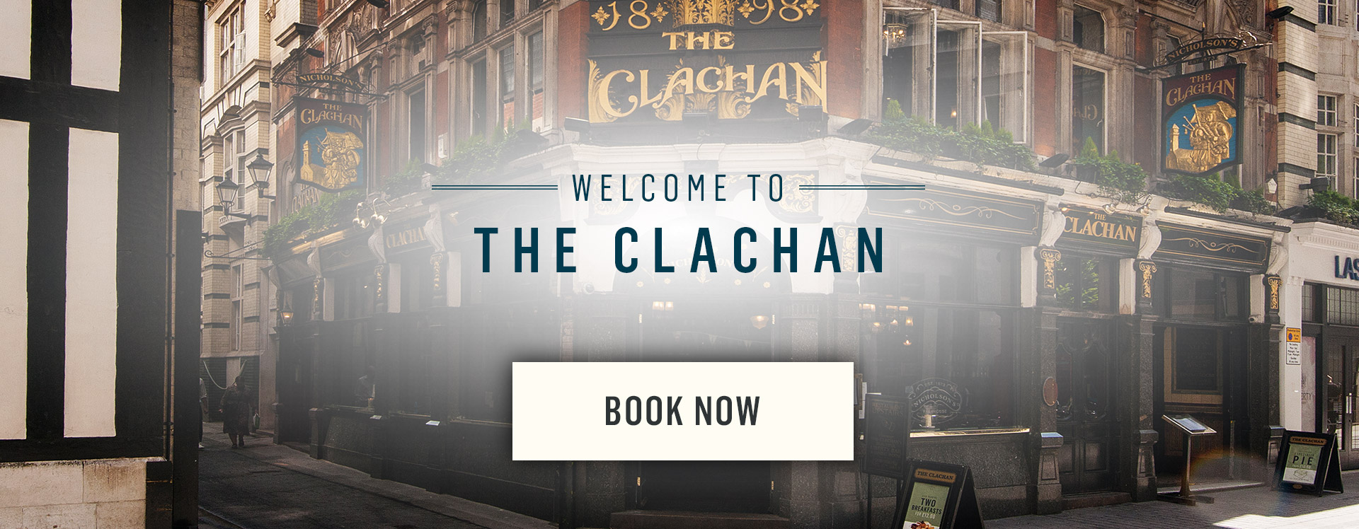 Welcome to The Clachan - Book Now