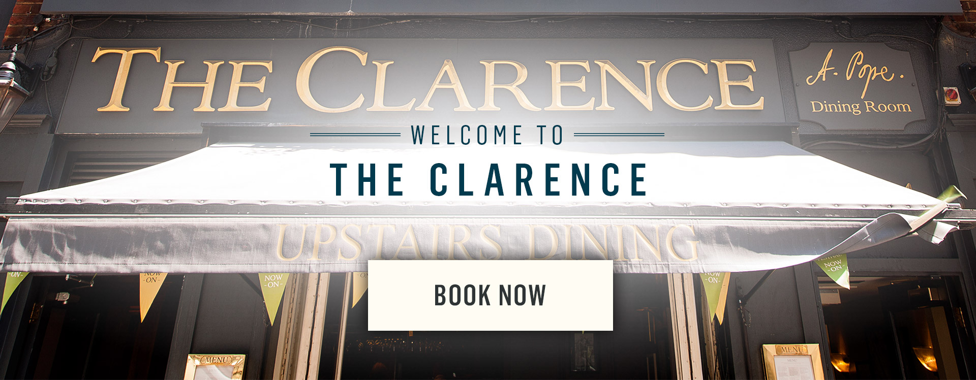 Welcome to The Clarence - Book Now