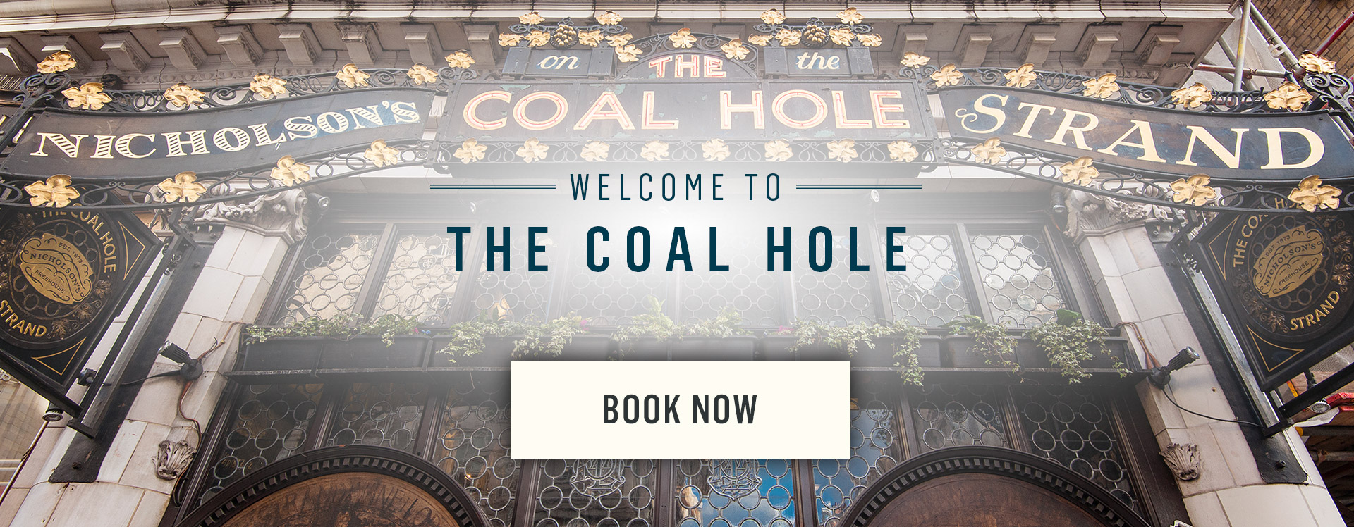 Welcome to The Coal Hole - Book Now