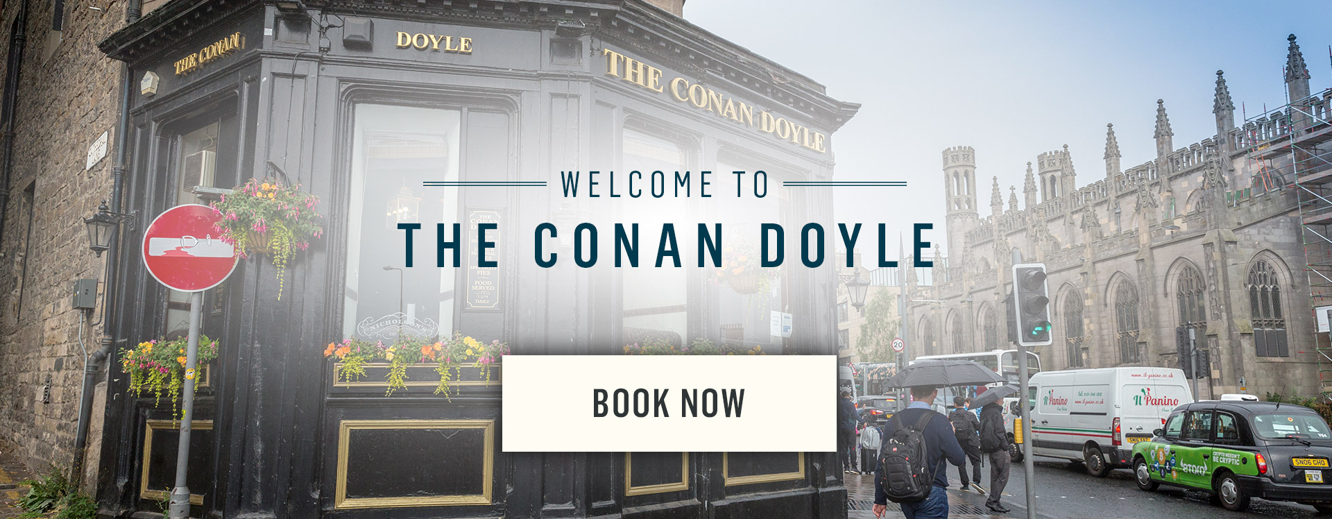 Welcome to The Conan Doyle - Book Now