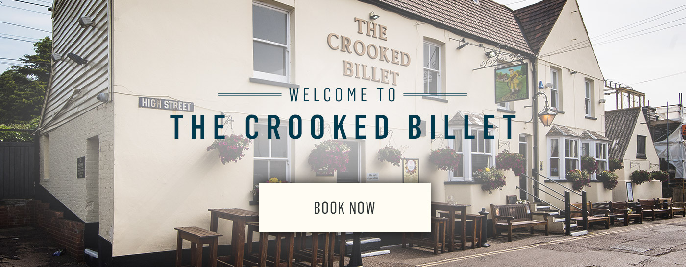 Welcome to The Crooked Billet - Book Now