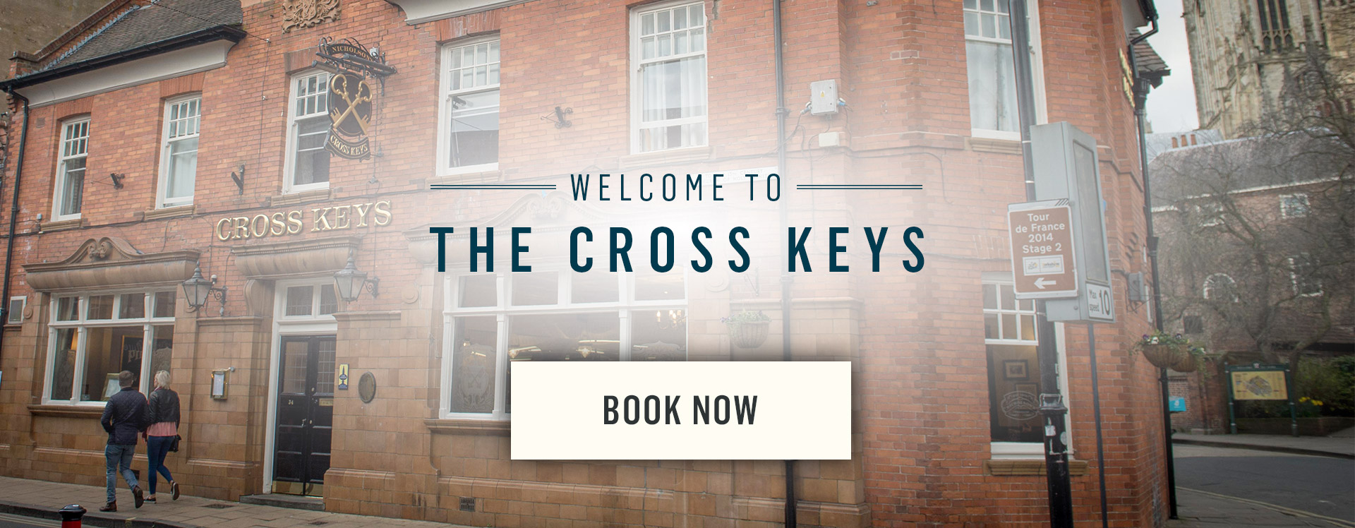 Welcome to The Cross Keys - Book Now