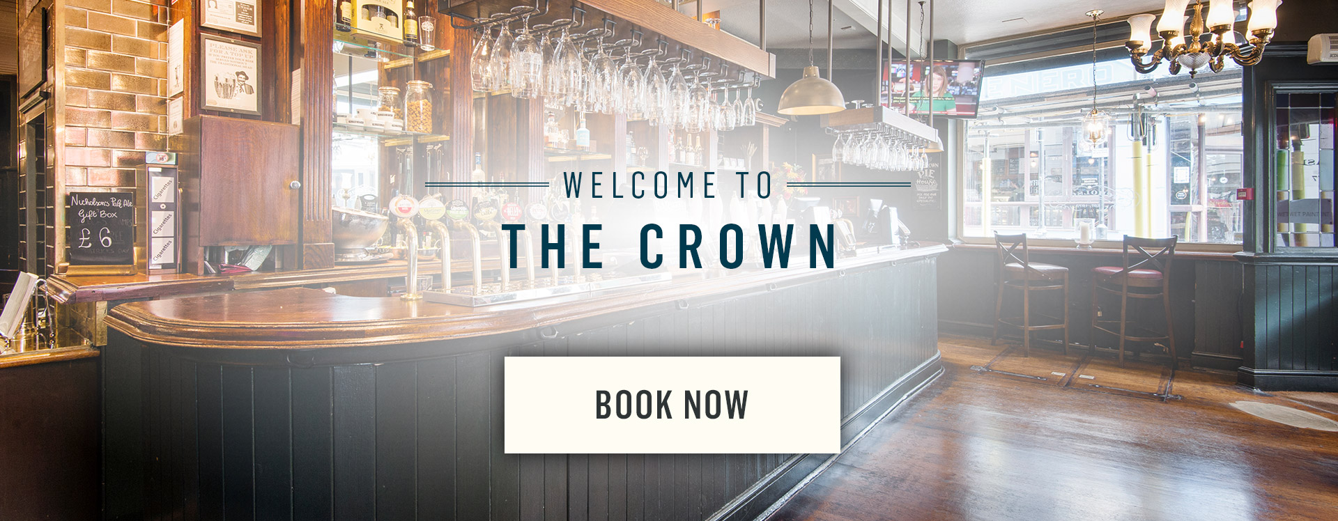 Welcome to The Crown - Book Now