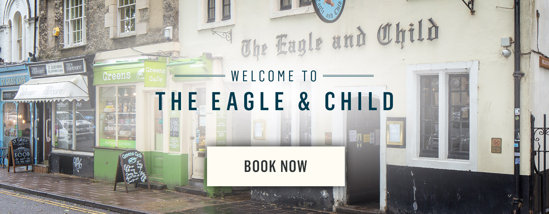 Welcome to The Eagle and Child - Book Now