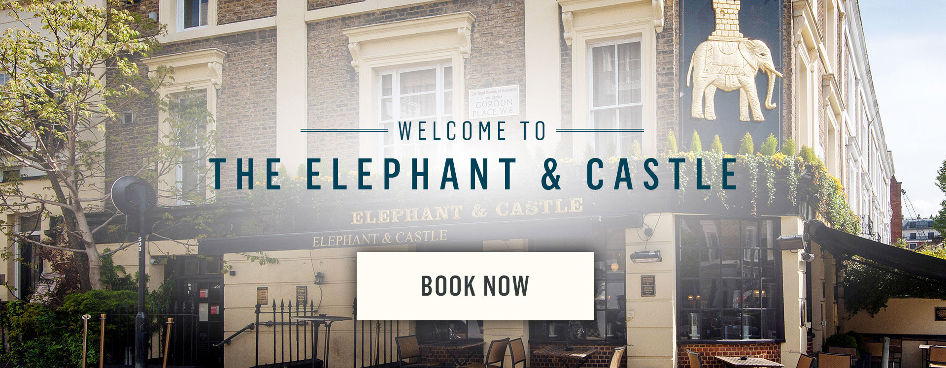Welcome to The Elephant and Castle - Book Now