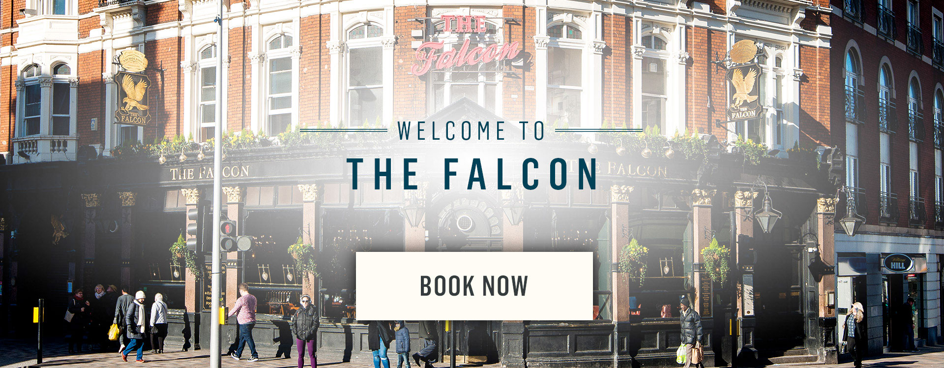 Welcome to The Falcon - Book Now