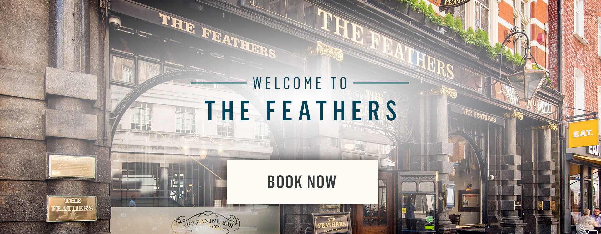 Welcome to The Feathers - Book Now