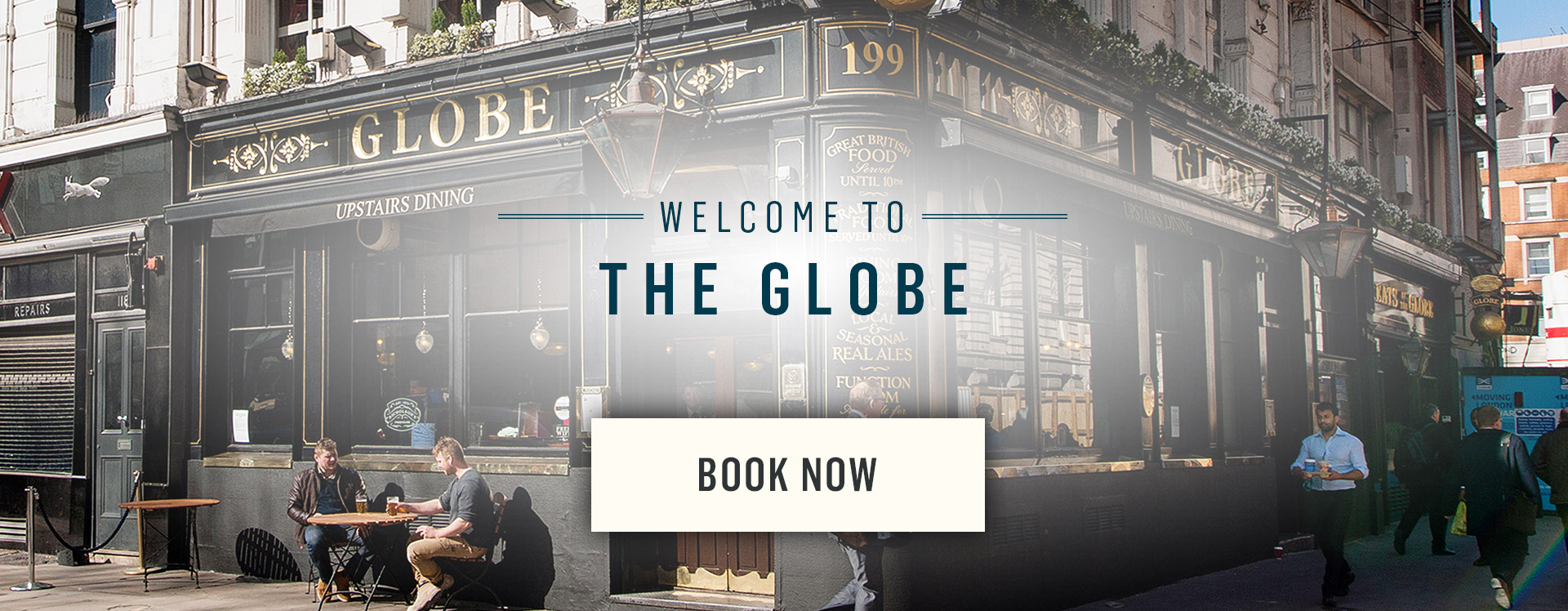 Welcome to The Globe - Book Now