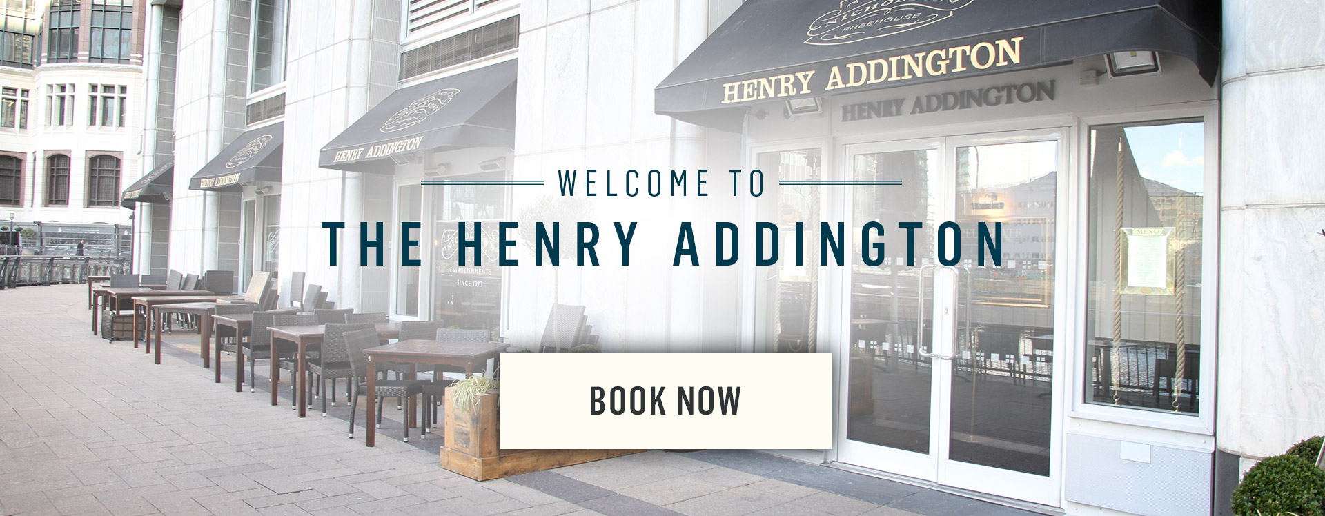 Welcome to The Henry Addington - Book Now