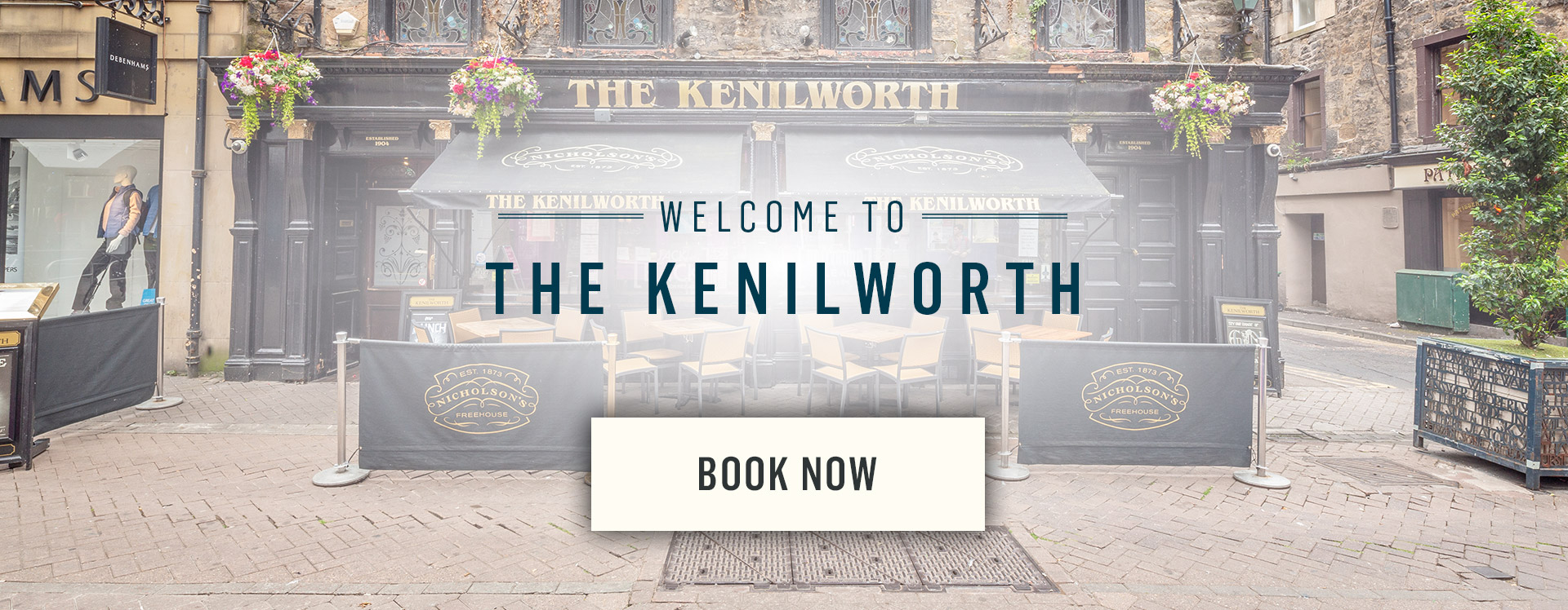 Welcome to The Kenilworth - Book Now