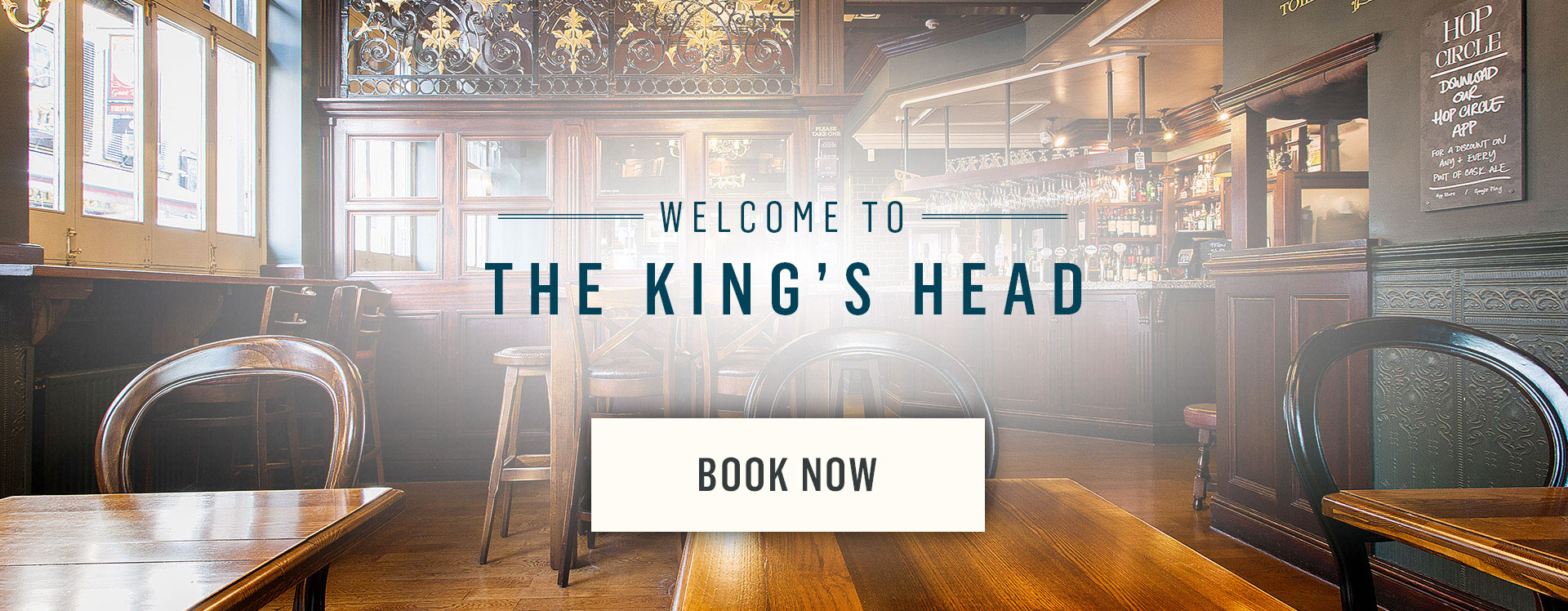Welcome to The King's Head - Book Now