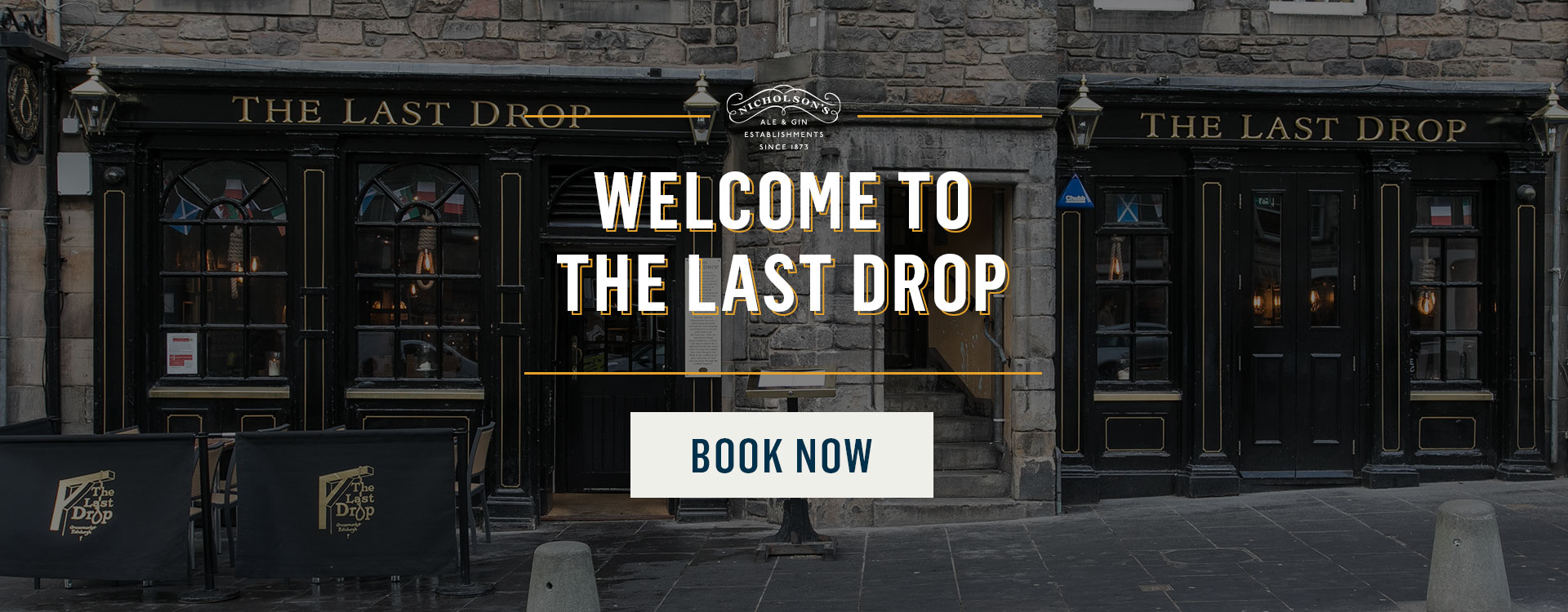 Welcome to The Last Drop - Book Now