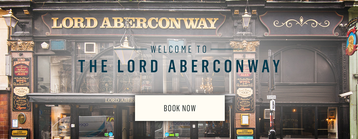 Welcome to The Lord Aberconway - Book Now