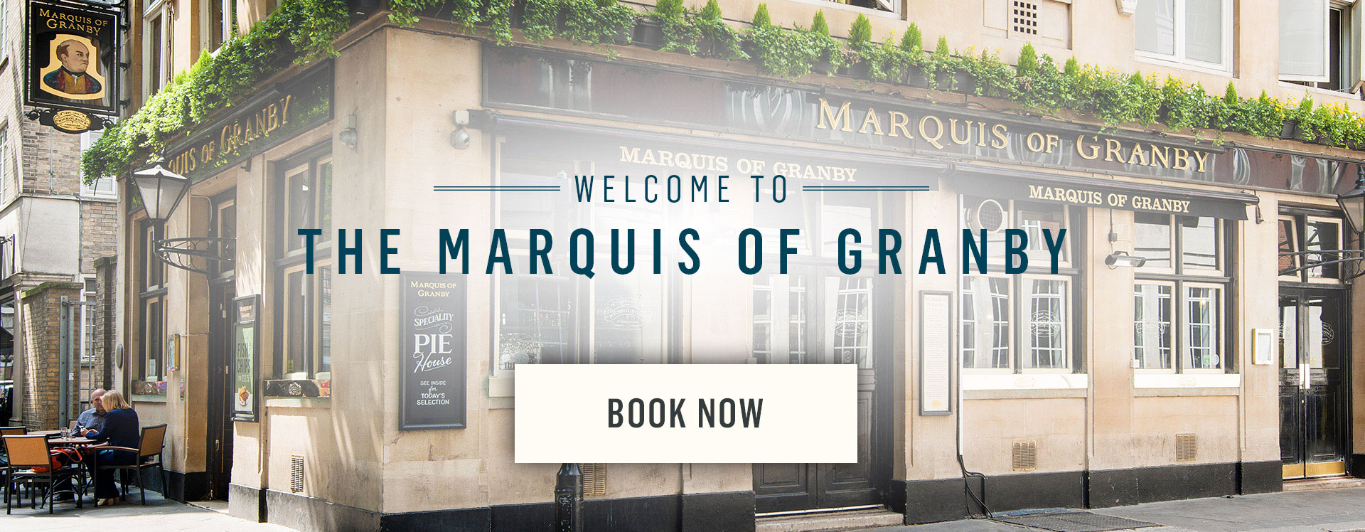 Welcome to The Marquis of Granby - Book Now