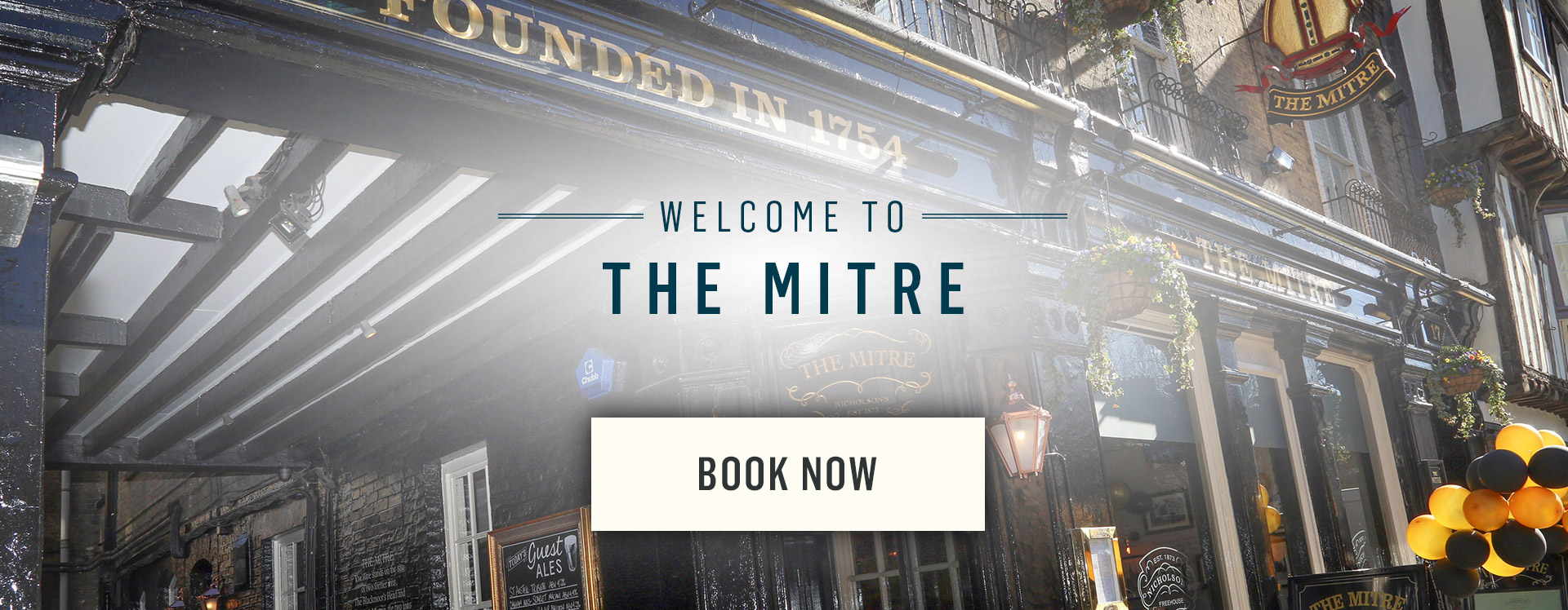 Welcome to The Mitre - Book Now