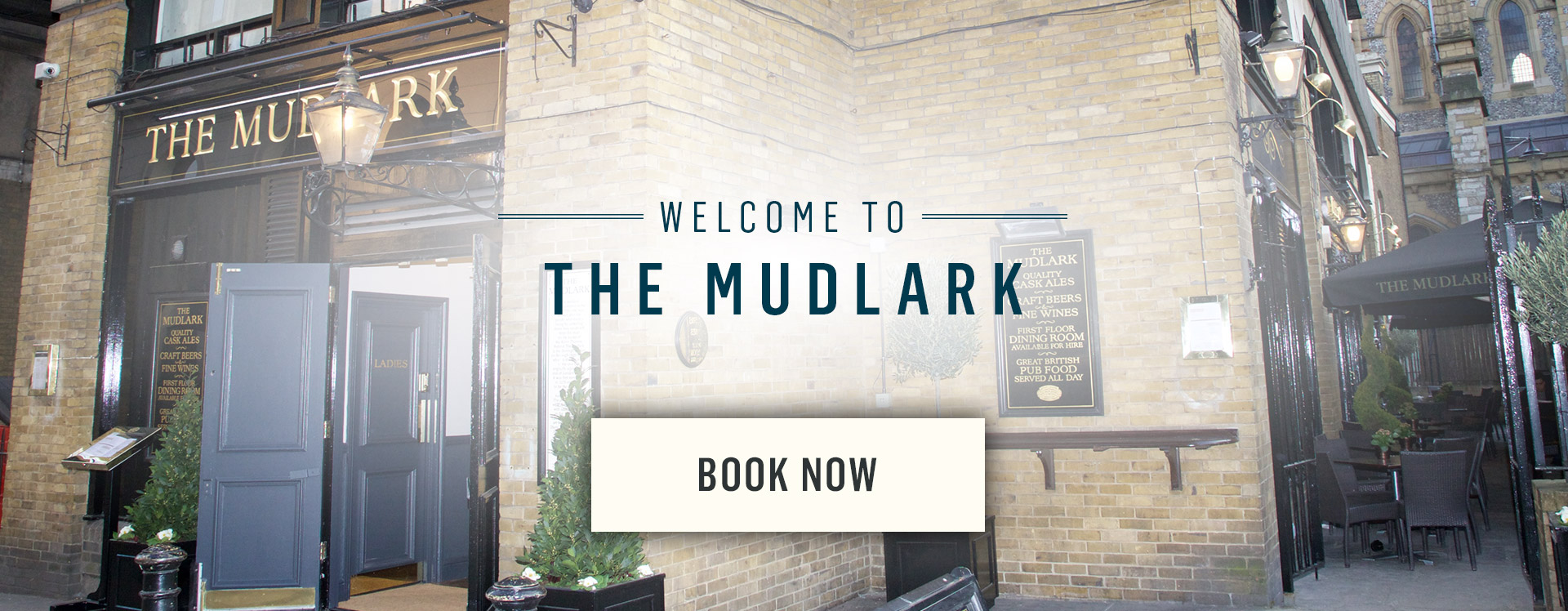 Welcome to The Mudlark - Book Now