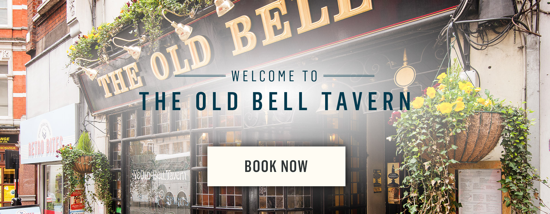 Welcome to The Old Bell Tavern - Book Now