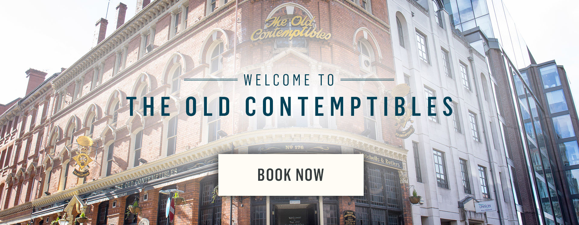Welcome to The Old Contemptibles - Book Now