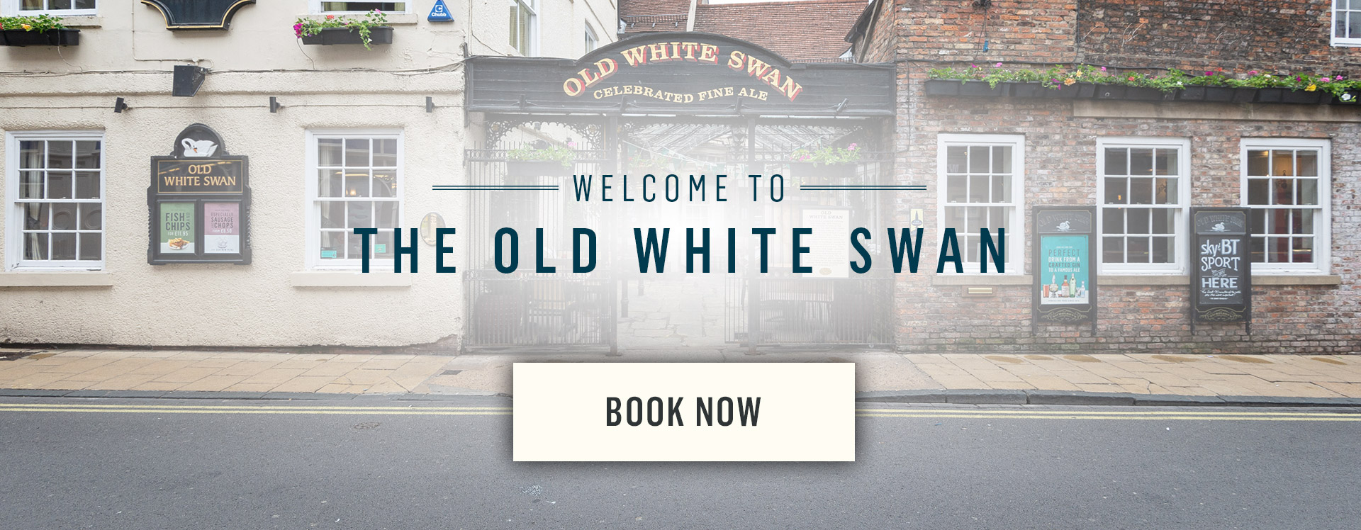 Welcome to The Old White Swan - Book Now