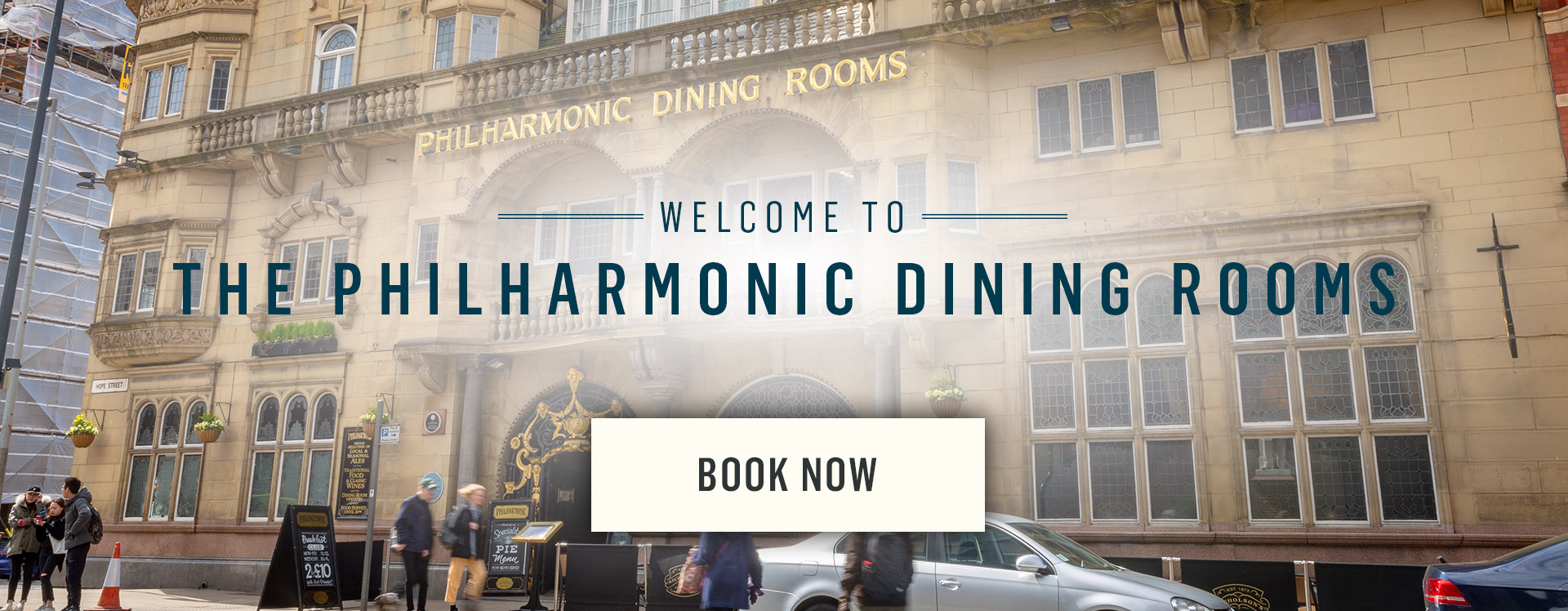 Welcome to The Philharmonic Dining Rooms - Book Now
