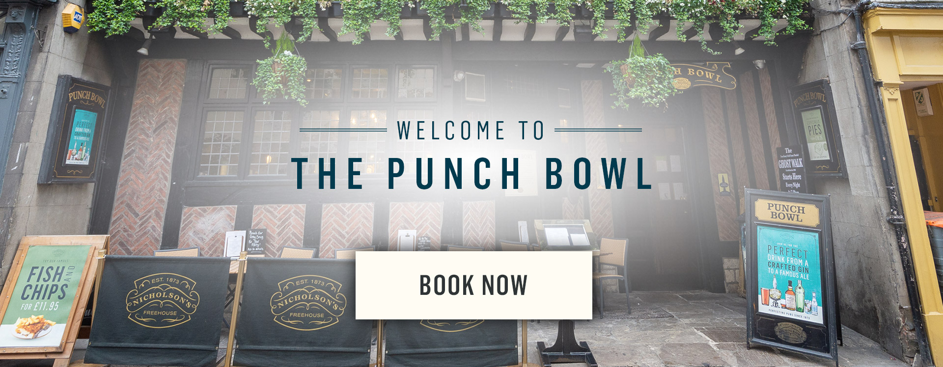 Welcome to The Punch Bowl - Book Now