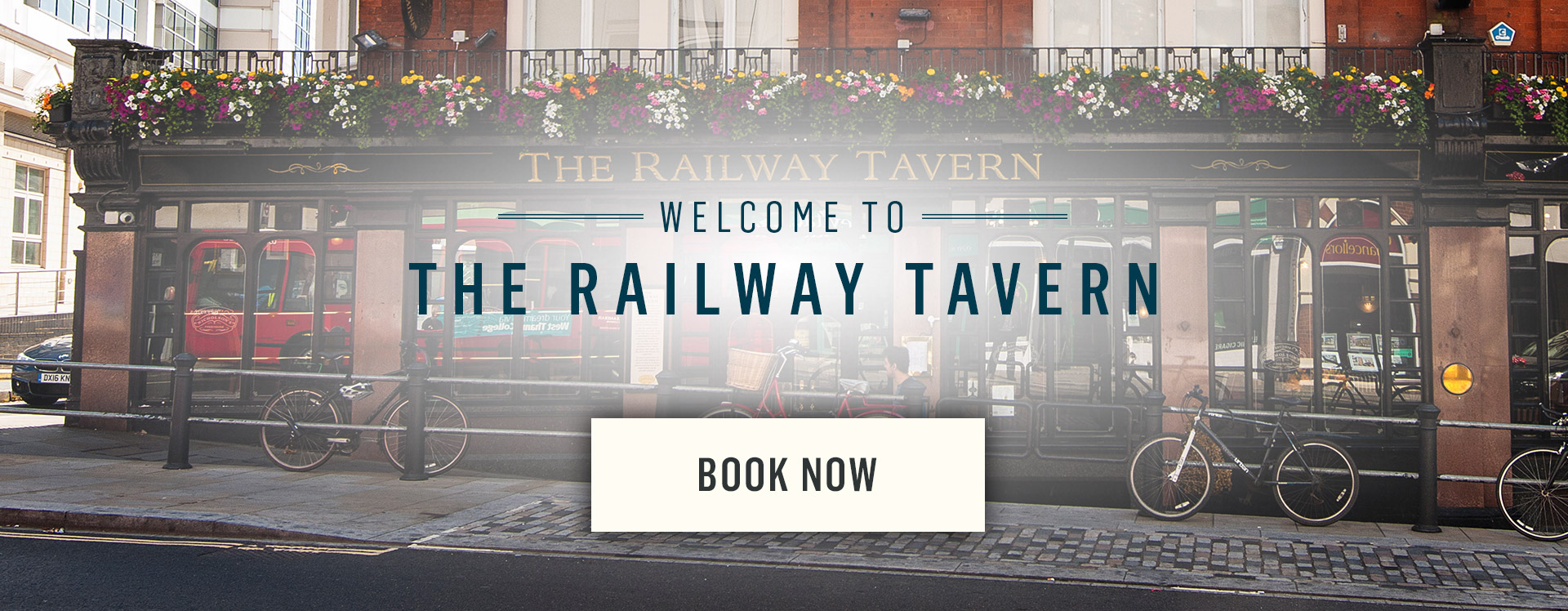 Welcome to The Railway Tavern - Book Now