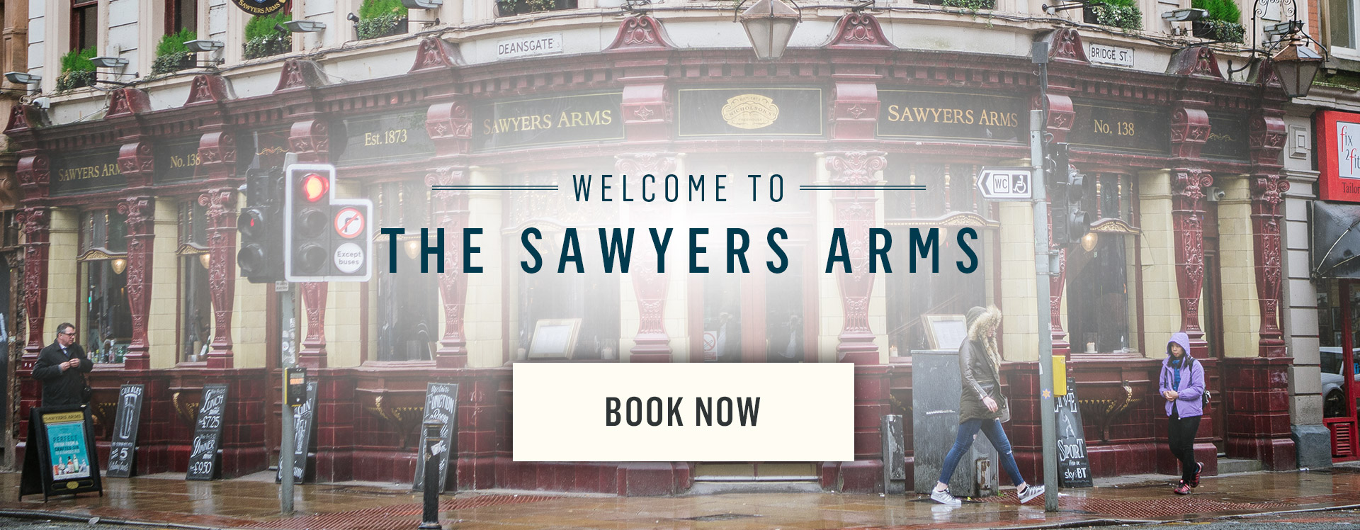 Welcome to The Sawyer's Arms - Book Now