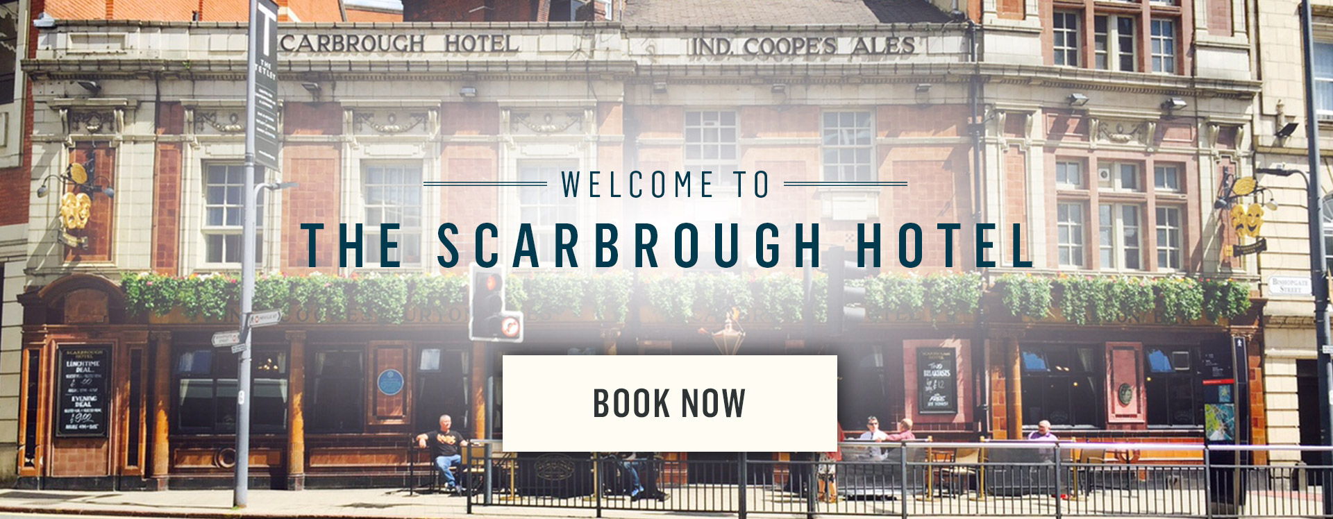 Welcome to The Scarbrough Hotel - Book Now