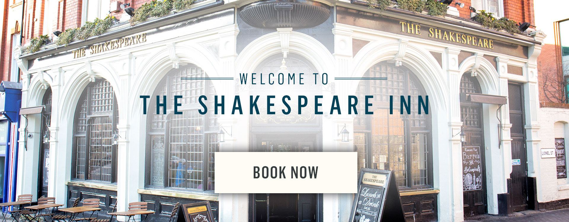Welcome to The Shakespeare Inn - Book Now