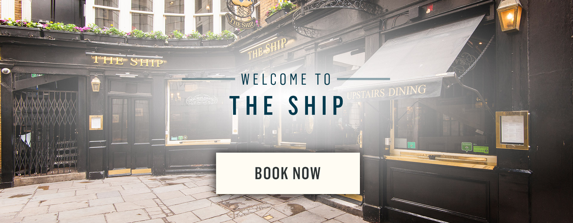 Welcome to The Ship - Book Now
