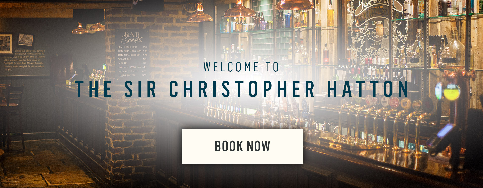 Welcome to The Sir Christopher Hatton - Book Now