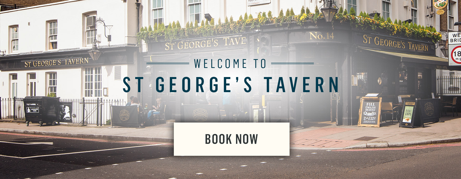 Welcome to The St George's Tavern - Book Now