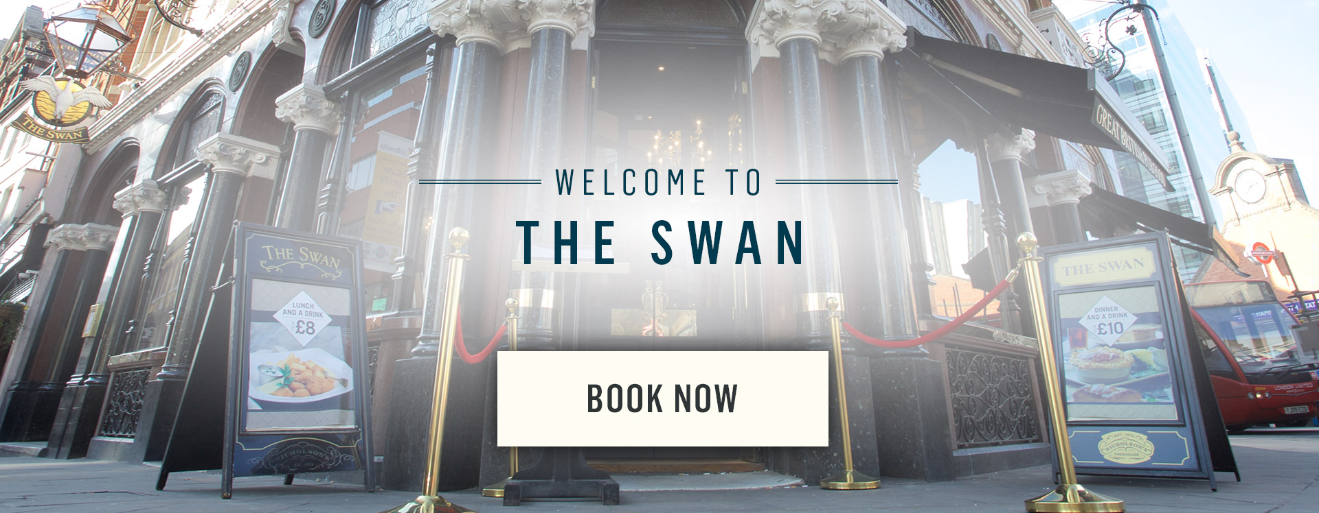 Welcome to The Swan - Book Now