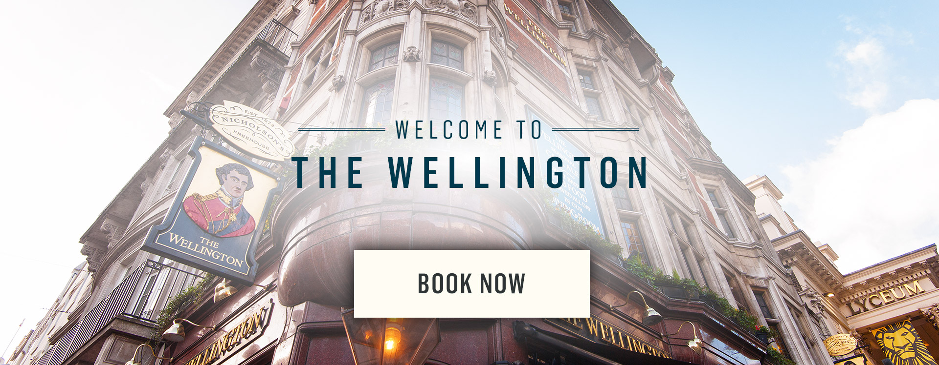Welcome to The Wellington - Book Now