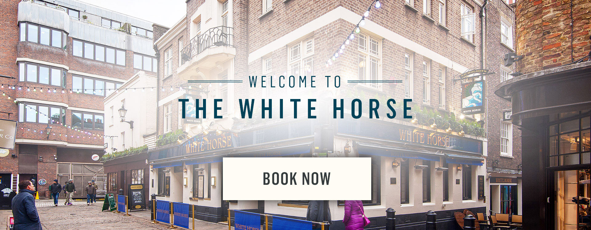Welcome to The White Horse - Book Now