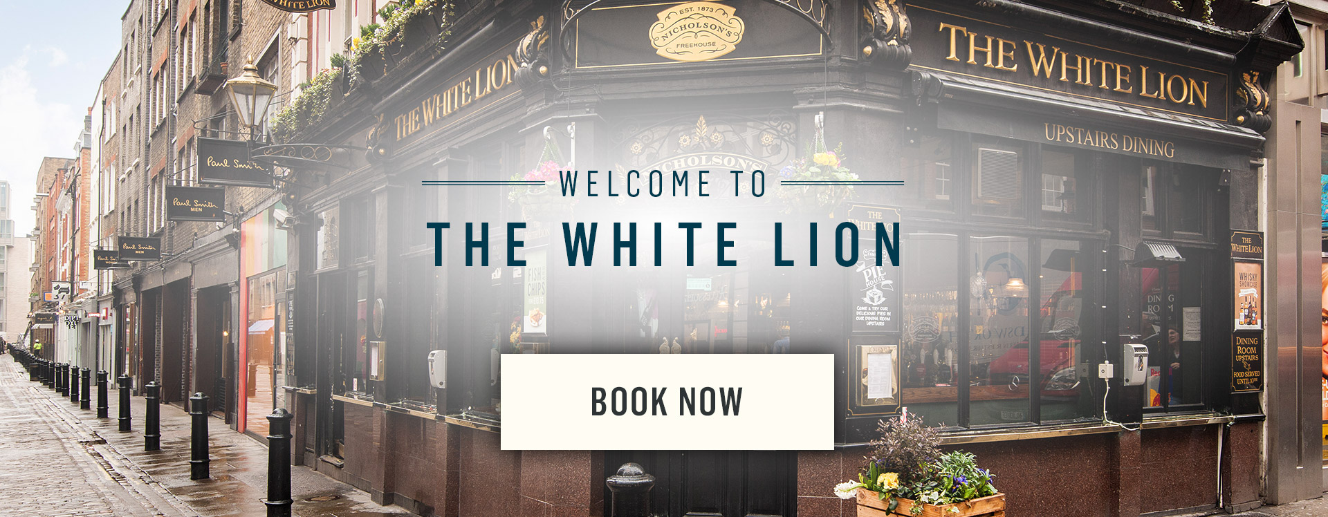 Welcome to The White Lion - Book Now