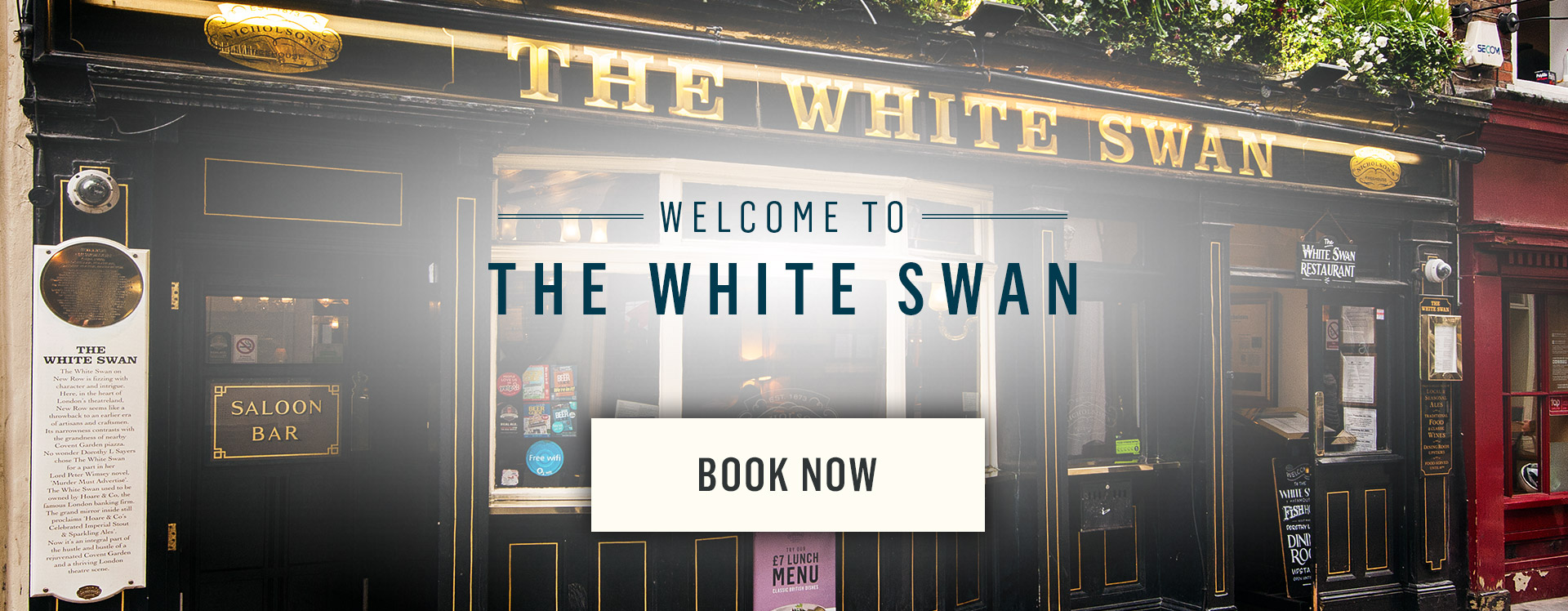 Welcome to The White Swan - Book Now