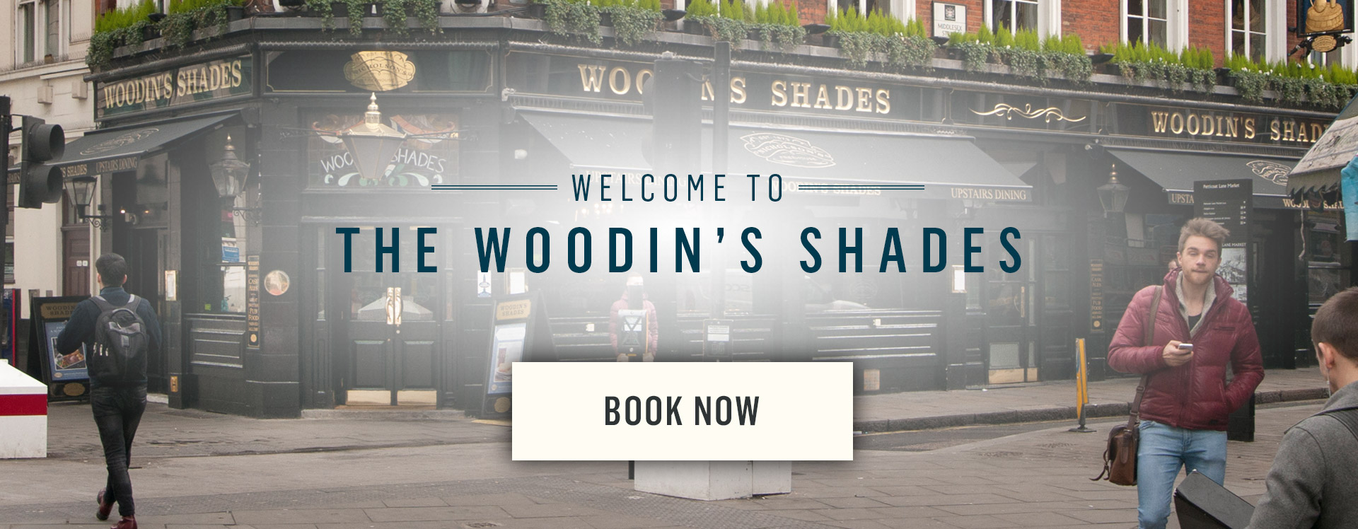Welcome to The Woodins Shades - Book Now