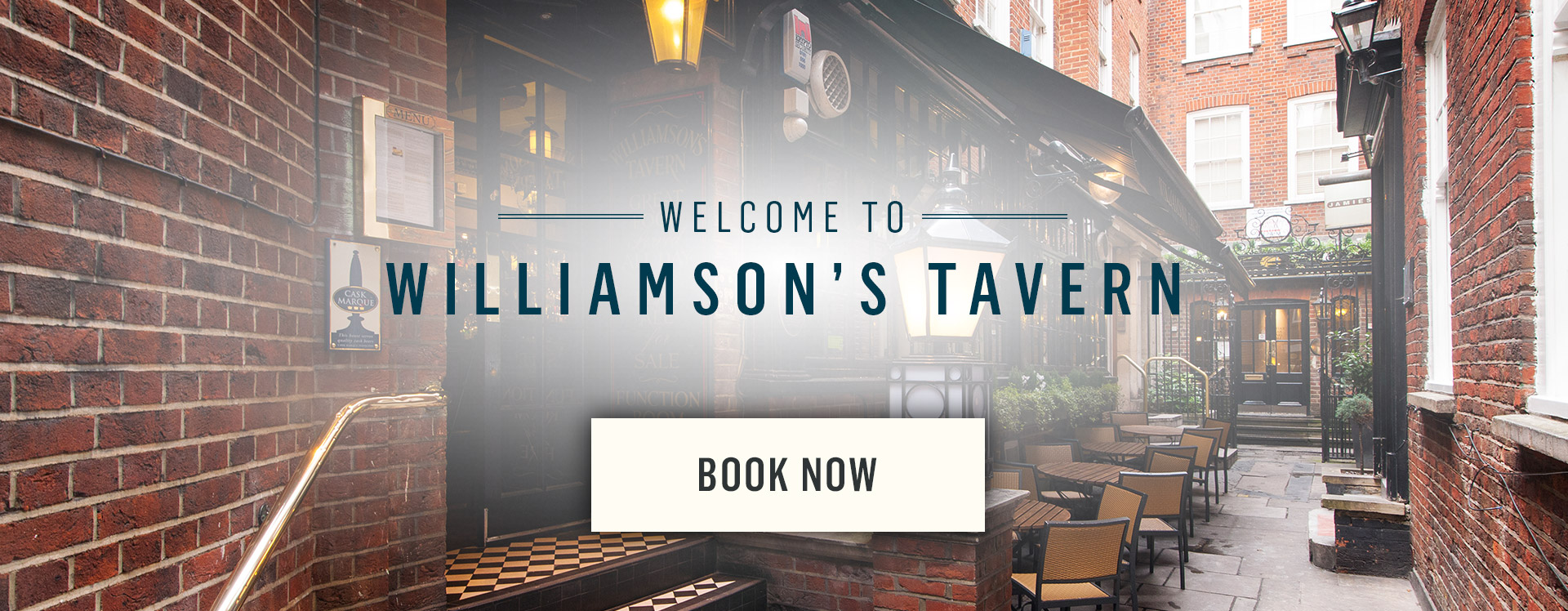 Welcome to Williamson's Tavern - Book Now
